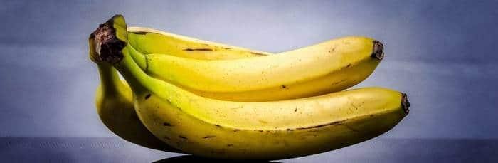 banaan eten voor het slapen